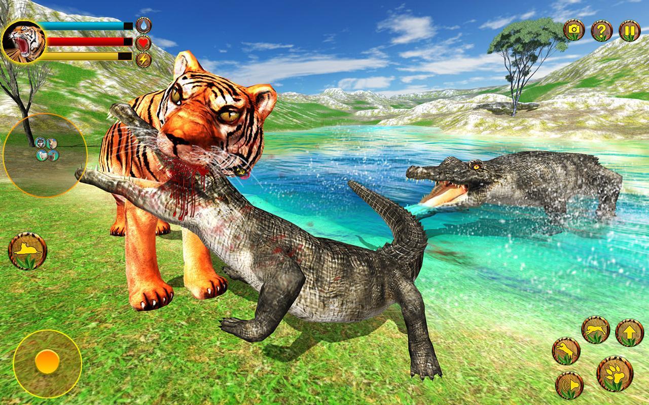 Wild Tiger Simulator 3d animal games ...