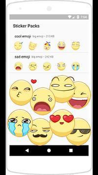 WAStickerApps big emoji poster