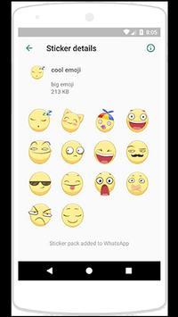 WAStickerApps big emoji screenshot 1