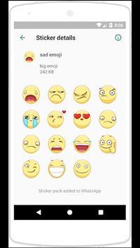 WAStickerApps big emoji screenshot 2