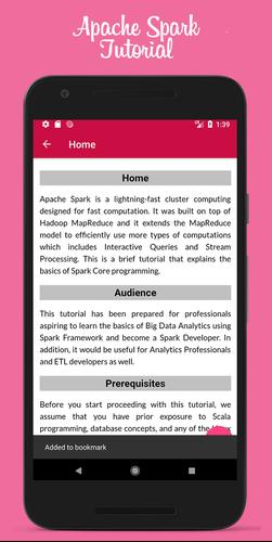 Learn Apache Spark Offline for Android - APK Download