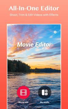 Editor de filmes de fotos com música, Video Maker Cartaz