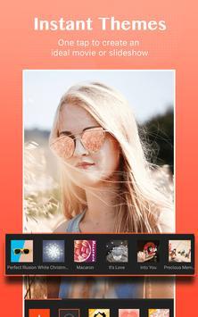 Editor de filmes de fotos com música, Video Maker imagem de tela 1