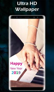 Happy New Year 2019 poster