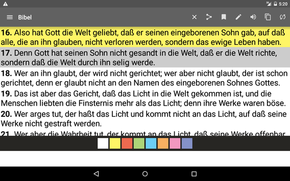 German Bible screenshot 15