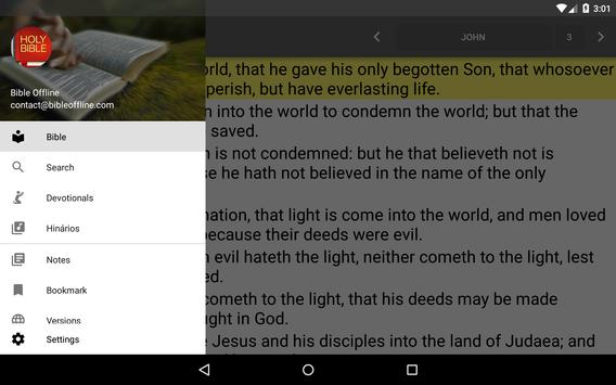 Bible King James screenshot 16
