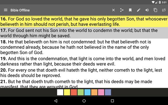 Bible King James screenshot 17