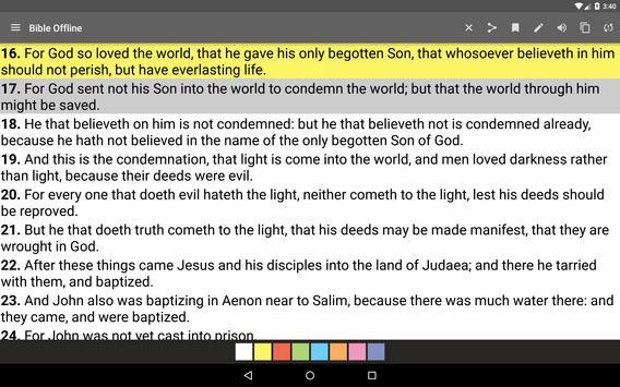 Bible King James screenshot 9