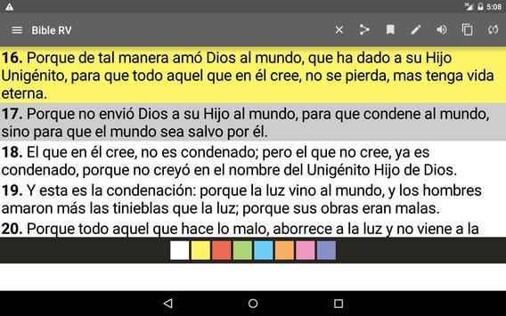 Bible Reina Valera screenshot 14
