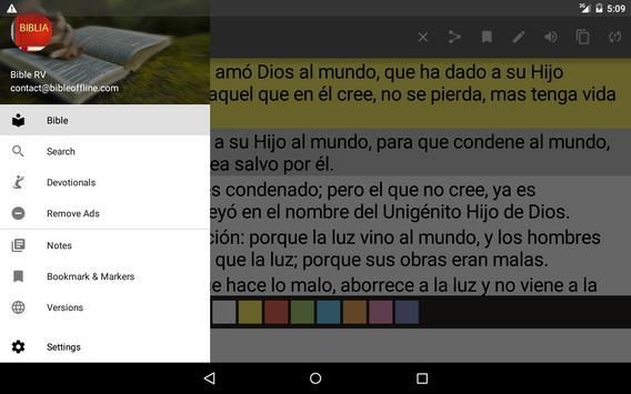 Bible Reina Valera screenshot 15