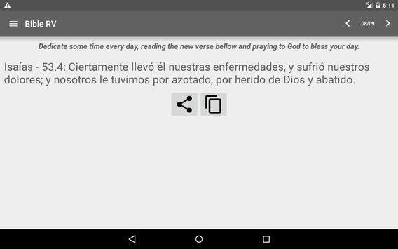 Bible Reina Valera screenshot 17