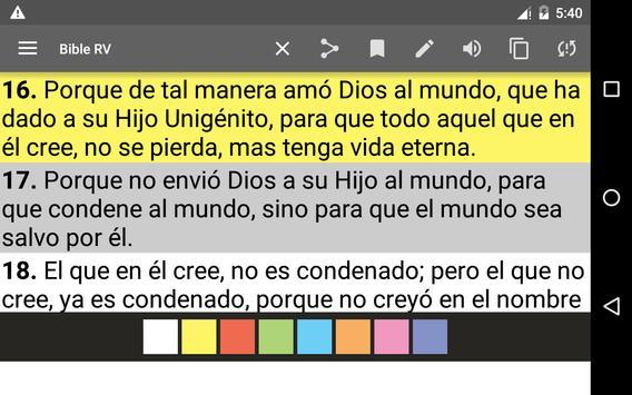 Bible Reina Valera screenshot 8