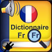 Dictionnaire francais francais hors ligne icon