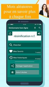 Dictionnaire francais francais hors ligne poster