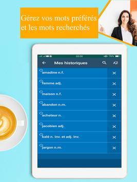 Dictionnaire francais francais hors ligne screenshot 13