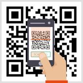 QR 코드, 큐알 코드, QR code, 바코드, QR코드 리더 icon