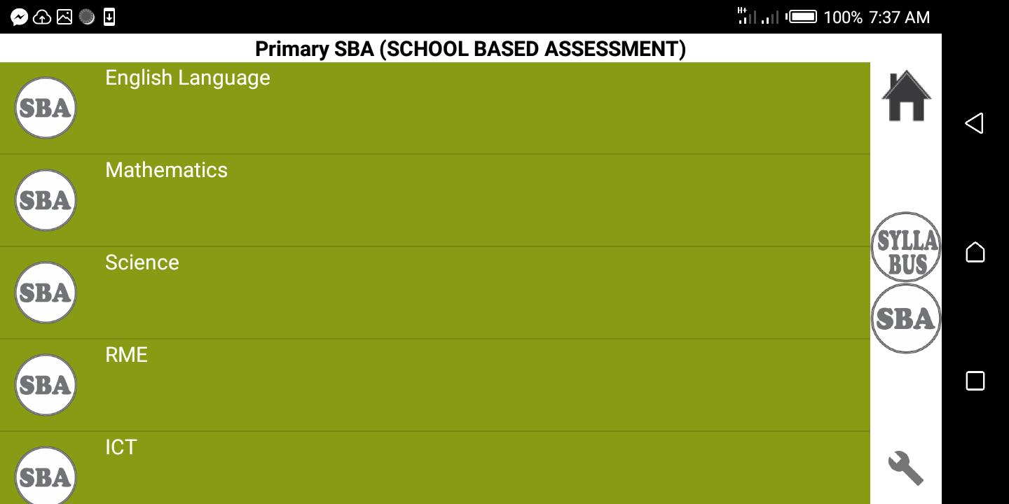 Primary Syllabus + SBA GES Ghana for Android - APK Download