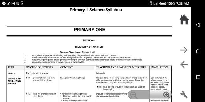 Primary Syllabus + SBA GES Ghana screenshot 6