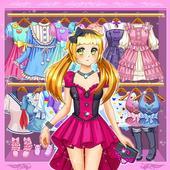 Anime và Kawaii Trò Chơi Thời Trang
