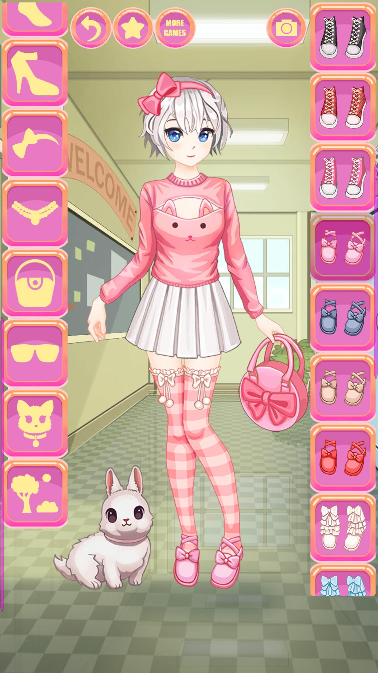 Anime Y Kawaii Vestir Chicas For Android Apk Download