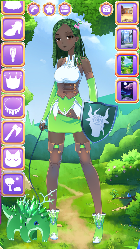 fantasy girl dress up games