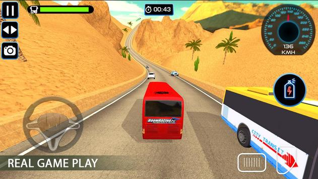 Bus Racing : Coach Bus Simulator 2020 poster