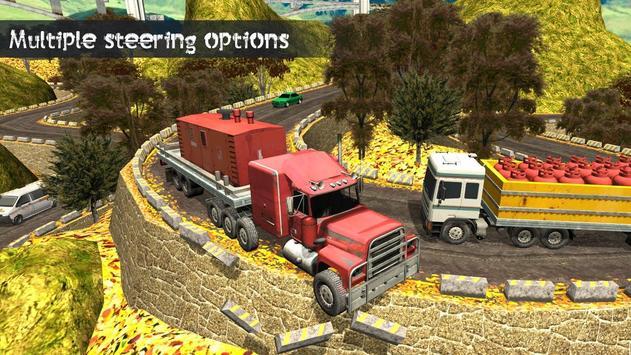 Truck Driving Uphill : Truck simulator games 2020 screenshot 4