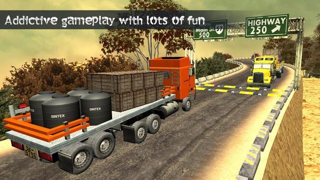 Truck Driving Uphill : Truck simulator games 2020 screenshot 9
