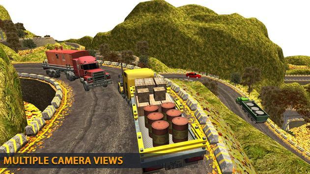 Truck Driving Uphill : Truck simulator games 2020 screenshot 5
