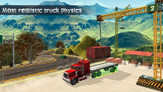Truck Driving Uphill : Truck simulator games 2020 poster