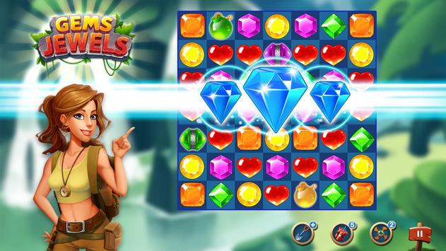 Jewel & Gem Blast - Match 3 Puzzle Game screenshot 5