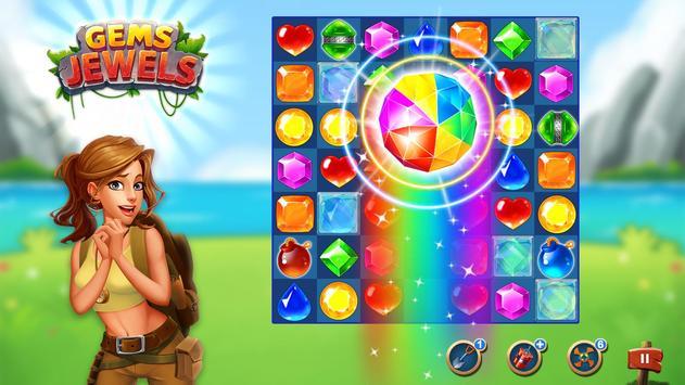Jewel & Gem Blast - Match 3 Puzzle Game screenshot 6