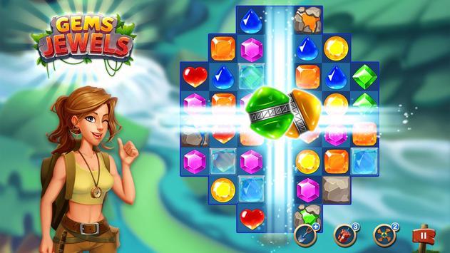 Jewel & Gem Blast - Match 3 Puzzle Game screenshot 7
