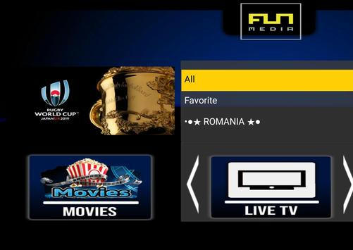 IPTV Romania - canale romanesti تصوير الشاشة 1