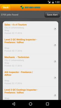 Best Jobs 4 Africa screenshot 1