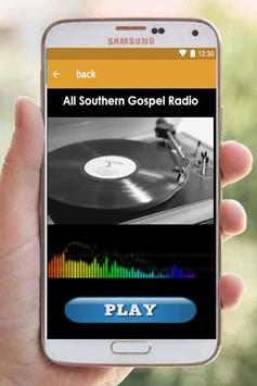 Southern gospel radio screenshot 1