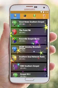 Southern gospel radio screenshot 2