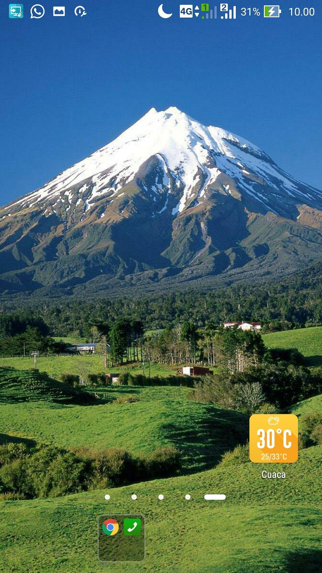 Mountain Wallpaper Hd Nature Volcano For Android Apk