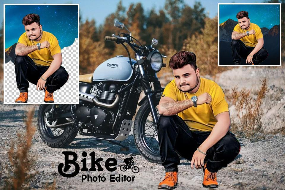 Bike Photo Editor : Cut Paste Editor for Android - APK Download