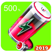 500 ultra Battery Saver - fast charger PRO  2019 icon