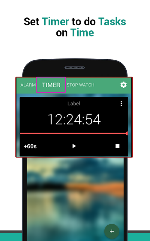 Stopwatch with Alarm & Timer Plus - Reminder app for Android