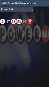 PowerBall Now PA results screenshot 3