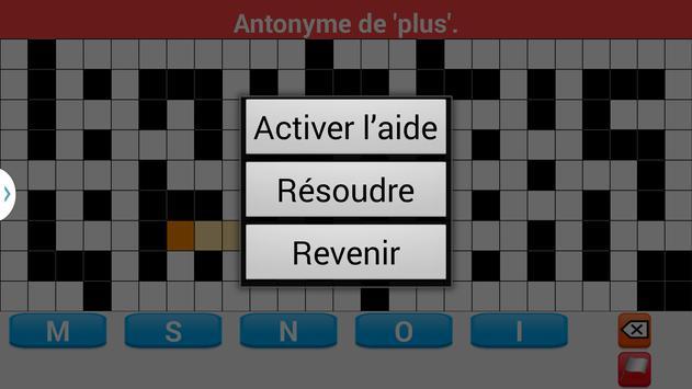 Mots Fléchés en Français syot layar 7