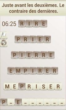 Jeux de Mots en Français capture d'écran 1