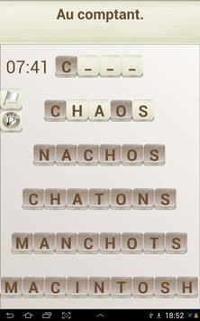 Jeux de Mots en Français capture d'écran 8