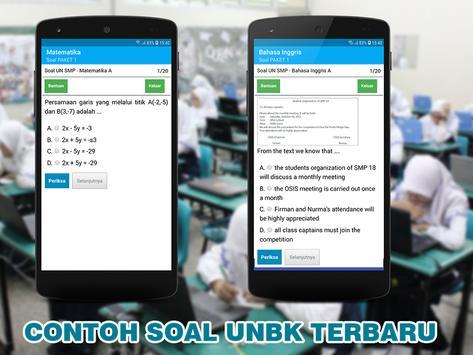 SOAL TES UNBK SMP MTS 2020 - UNBK SMP 2020 TERBARU screenshot 4
