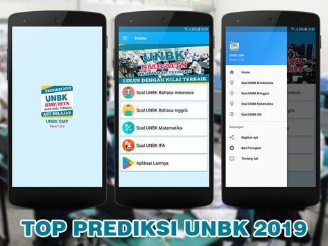 Soal UNBK SMP MTS 2019 (Ujian Nasional) poster