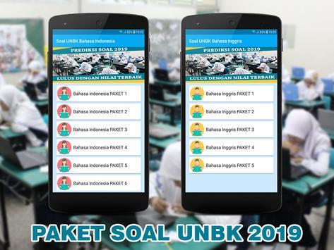 Soal UNBK SMP MTS 2019 (Ujian Nasional) screenshot 1