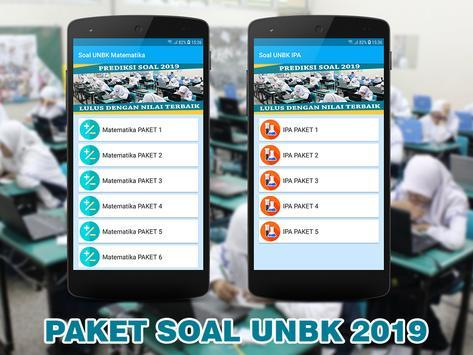 Soal UNBK SMP MTS 2019 (Ujian Nasional) screenshot 2