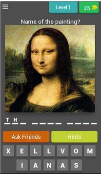 Art Quiz poster